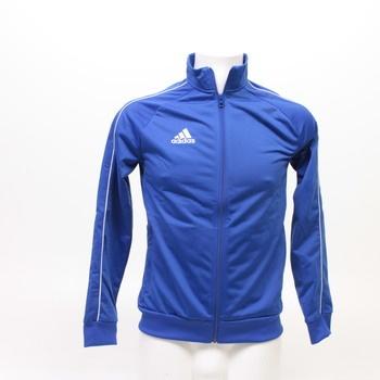 Dětská mikina Adidas modrá na zip