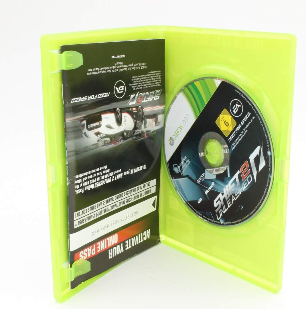Hra na Xbox 360 - Shift 2 Unleashed