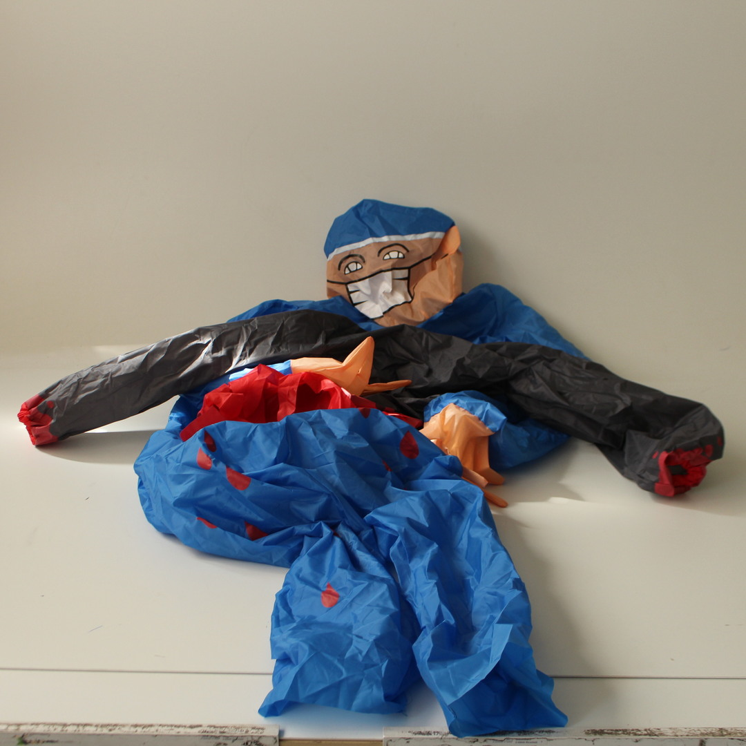 Nafukovací doktor kostým