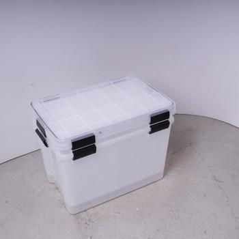 Plastové boxy s víkem Iris 135454 2 ks