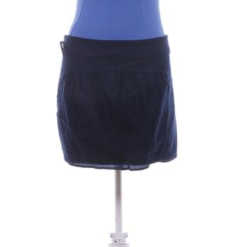 Společenská sukně TopShop modrá