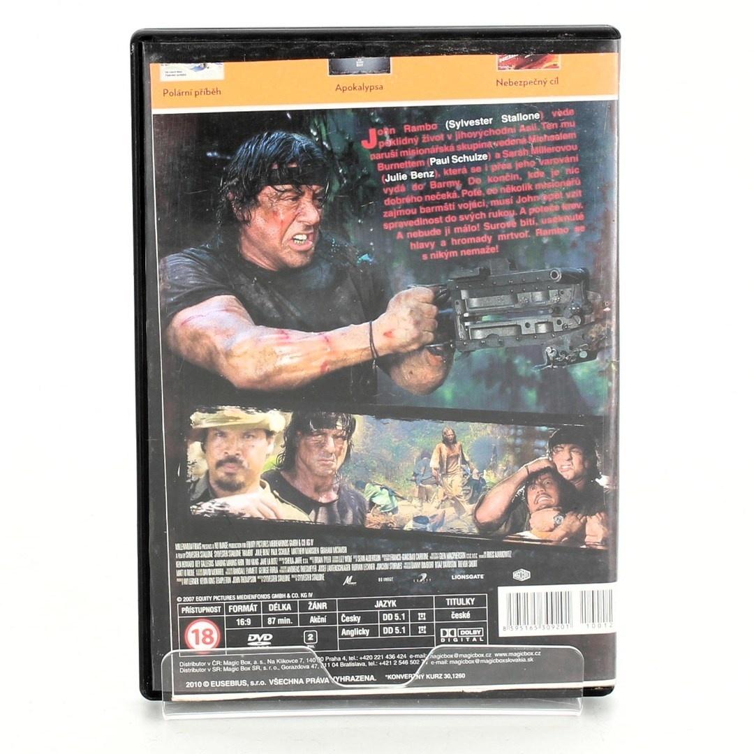 DVD Rambo: Do pekla a zpět