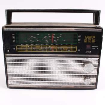 Transistorový příjímač VEF 206