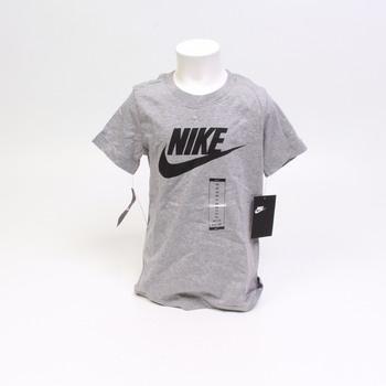 Dětské tričko Nike AR5252 šedé