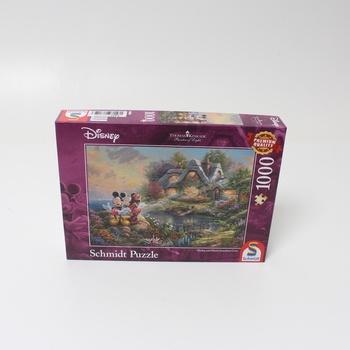 Puzzle 1000 Mickie + Minnie Schmidt 59639
