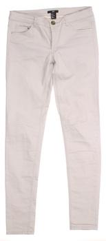 Dámské kalhoty H&M béžové úzký střih