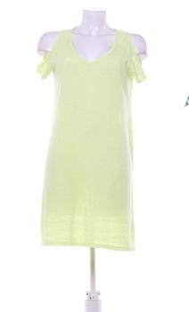 Dámské úpletové šaty F&F světle žluté