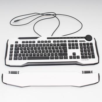 Herní klávesnice Roccat Horde AIMO bílá