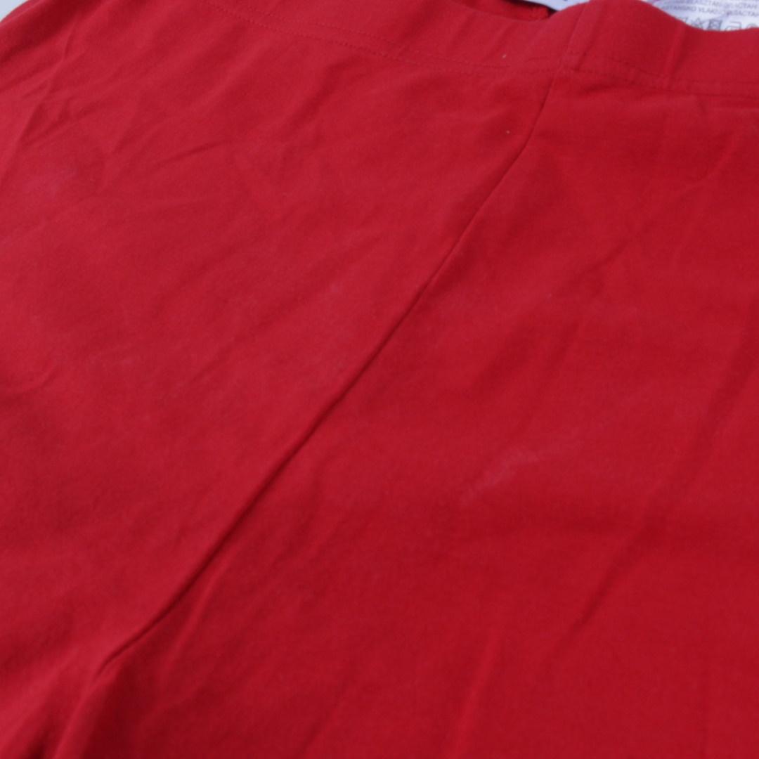 Dámské legíny Yessica červené barvy