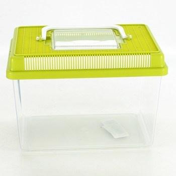 Plastové terarium 2,5 l  přenosné