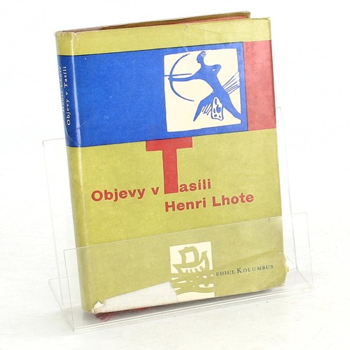 Kniha Henri Lhote: Objevy v Tasíli