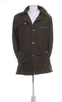 Pánská jarní bunda Fashion khaki XL