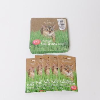 Semena trávy pro kočky Pretty Kitty