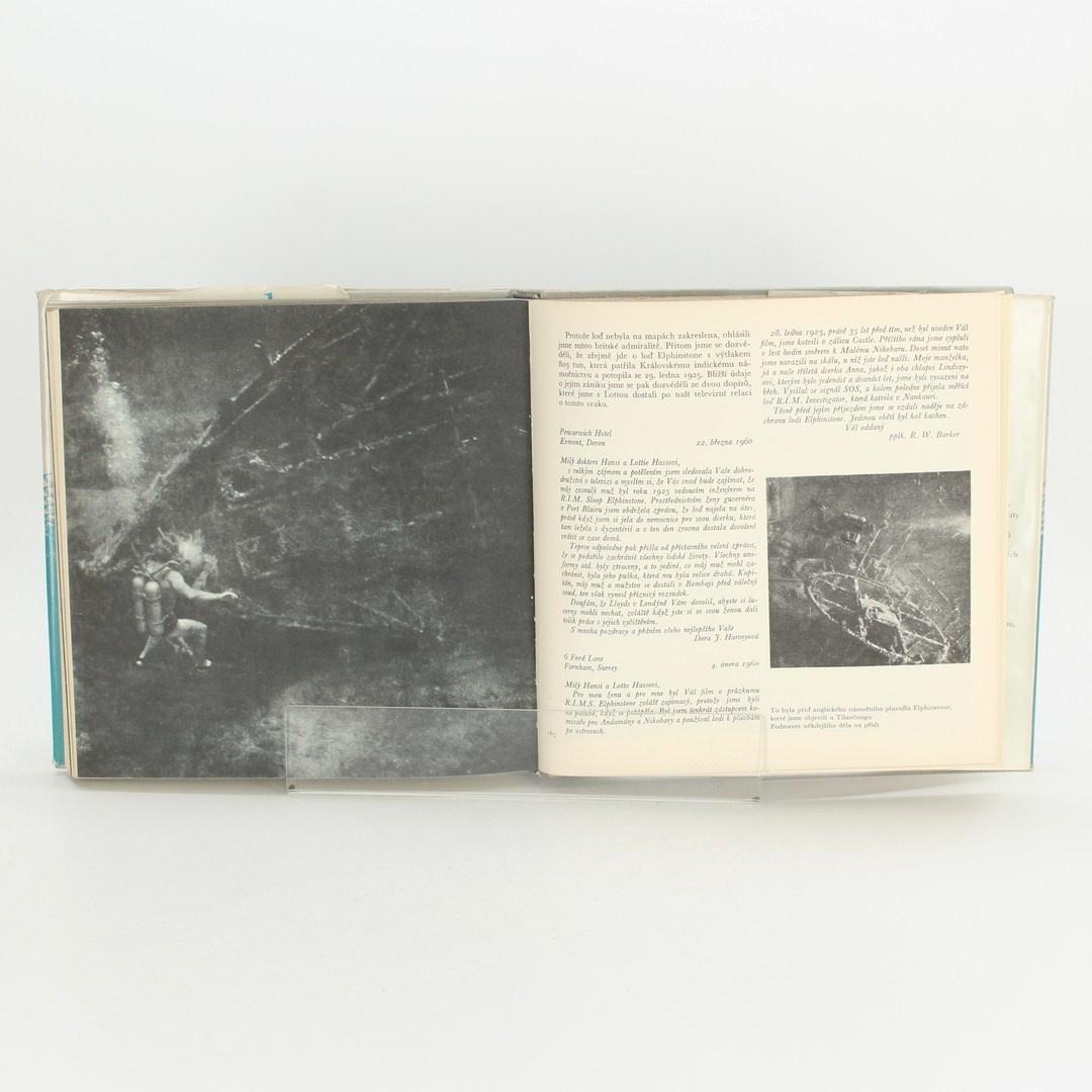 Naučná kniha Výprava do neznáma Hans Hass