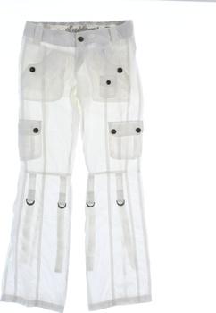 Dámské plátěné kalhoty Sublevel bílé