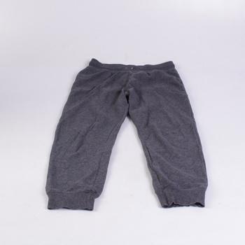 Dětské tepláky H&M tmavě šedé
