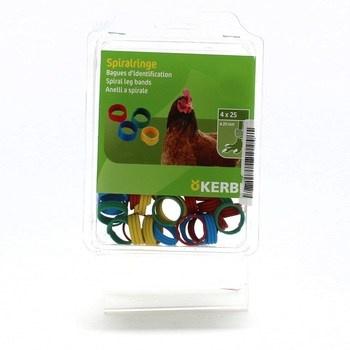 Kroužek Kerbl pro drůběž mix Ø 20 mm