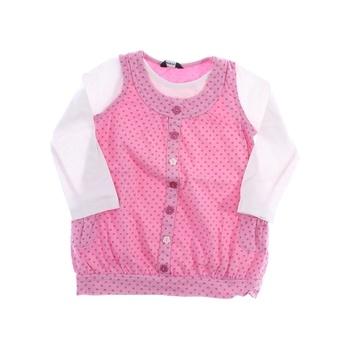 Dívčí tričko George růžové