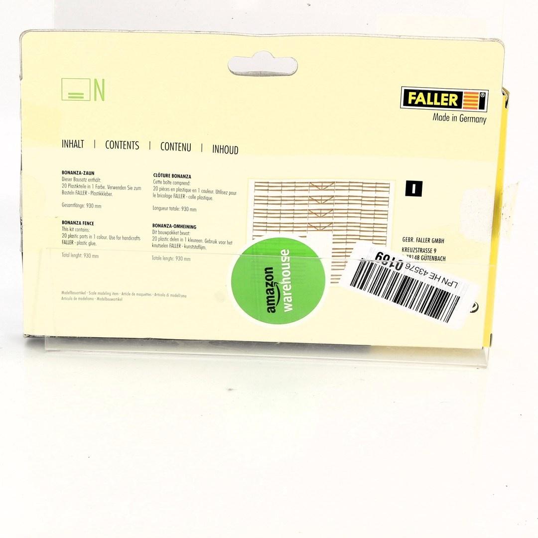 Model Faller plot Bonanza 272402