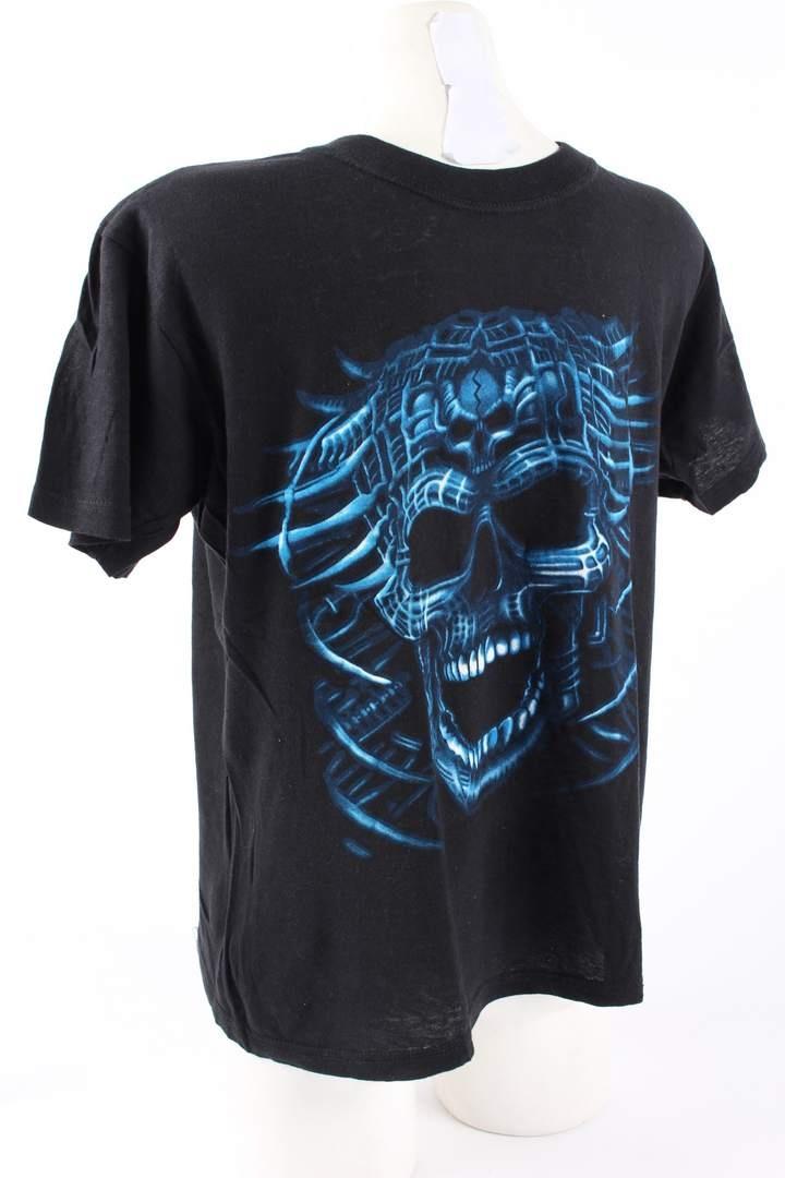 Dámské tričko Blossom krátký rukáv černé