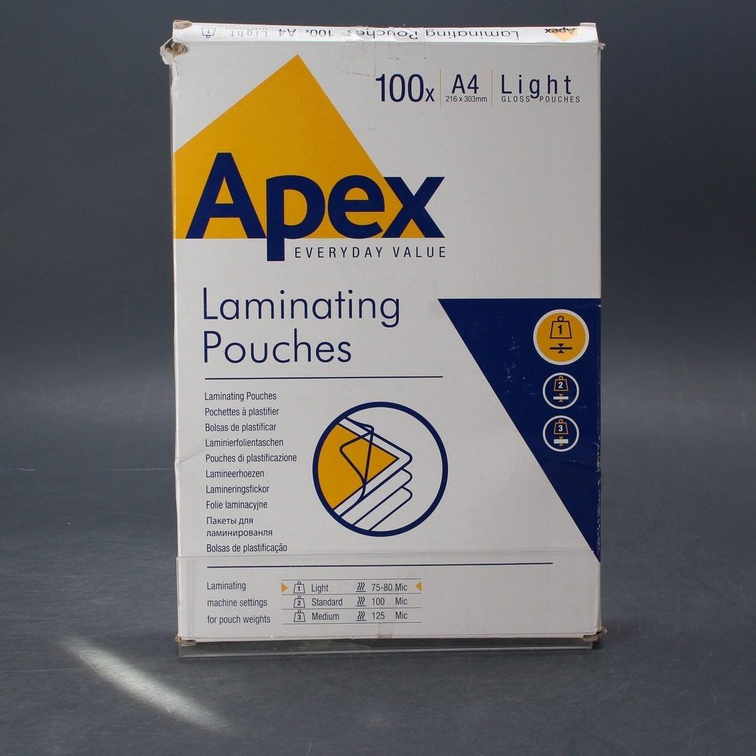 Laminovací fólie A4 Apex