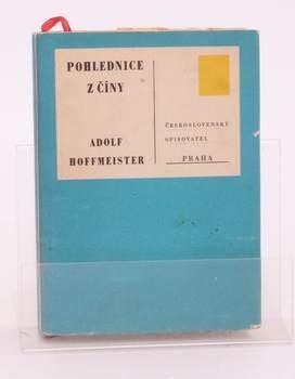 Kniha Adolf Hoffmeister: Pohlednice z Číny