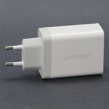 USB nabíječka UGreen bílá