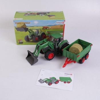 Plastový traktor s vlekem Schleich 42379