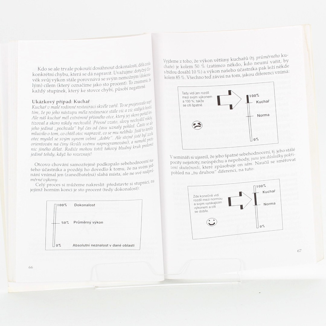 Kniha Trénujme úspěch