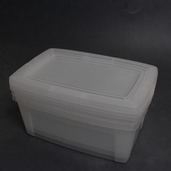 Plastové boxy Iris 135512 3 ks
