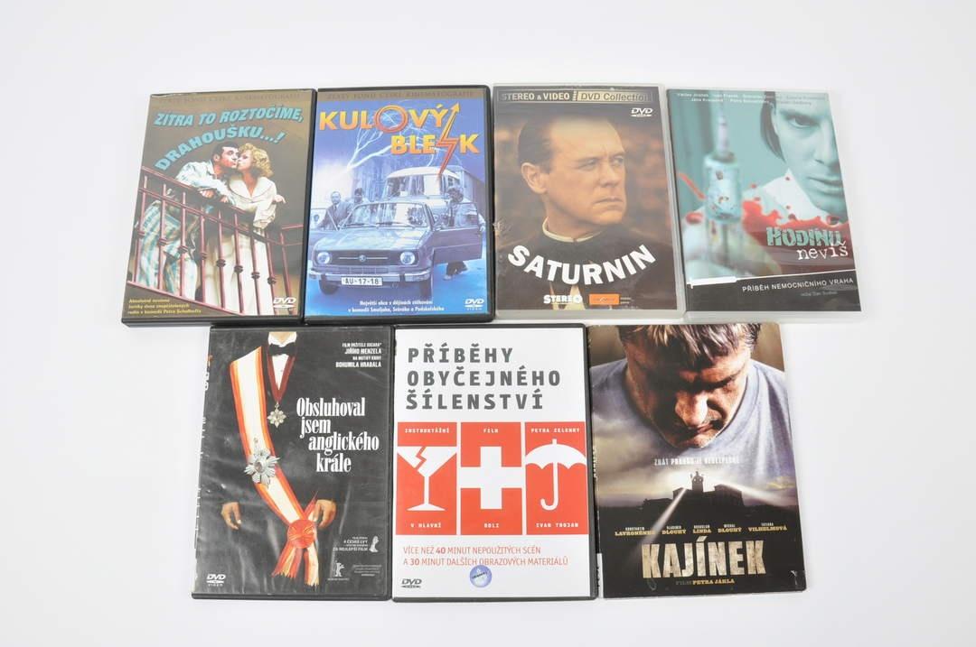 7 filmů na DVD (Kulový blesk, Saturnin)