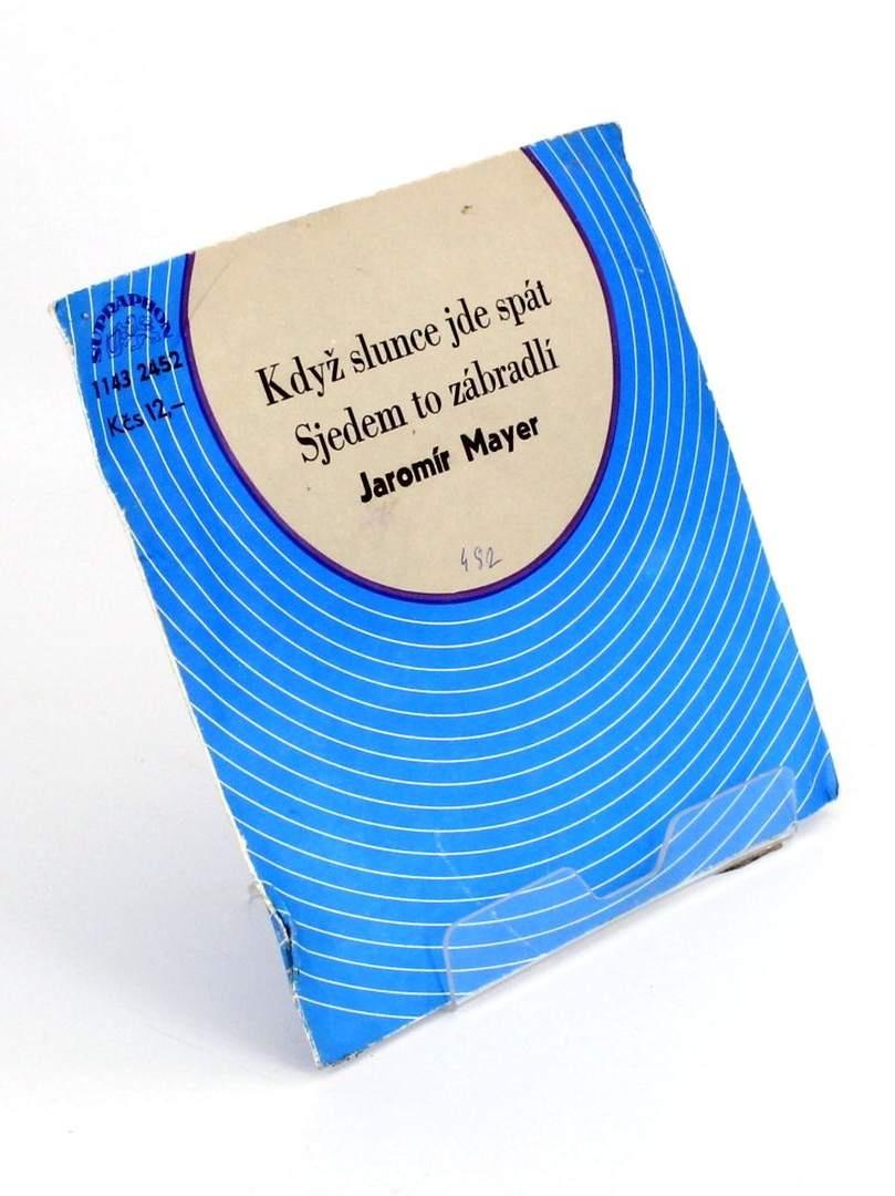 Gramodeska Když slunce jde spát, J. Meyer
