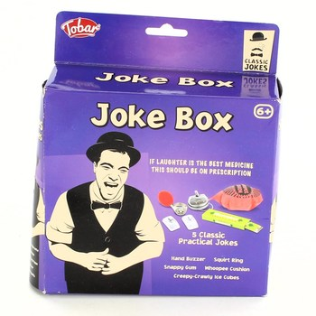 Sada zábavných předmětů Tobar 10250 Joke box