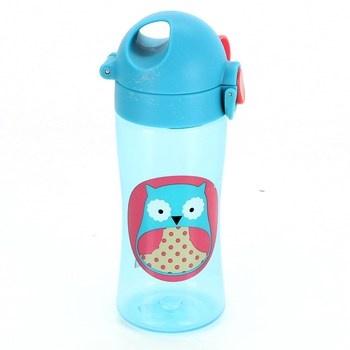Dětská lahev Skip hop Zoo Lock-Top sova