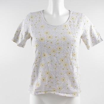 Dámské tričko Esmara se žlutými květy