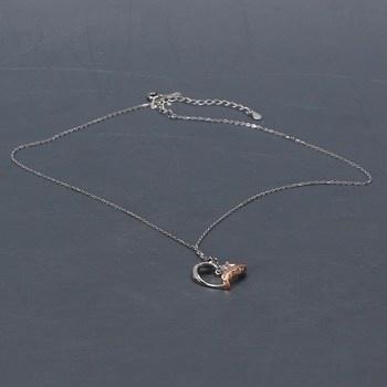 Dámský náhrdelník se srdcem J. Rosée