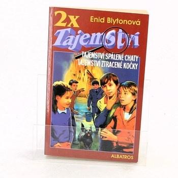Enid Blyton: 2x tajemství - Tajemství spálené chaty,…