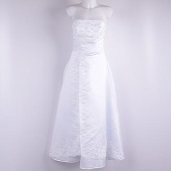 Svatební šaty dlouhé s bolerkem