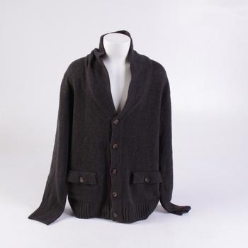 Dětský svetr H&M tmavě šedý