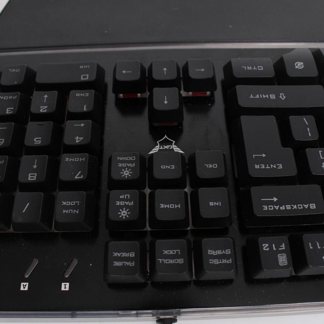 Kabelová klávesnice Trust GXT 860 Thura