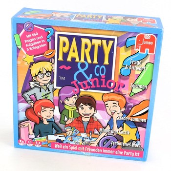 Společenská hra JUMBO 17793 Party&Co. Junior