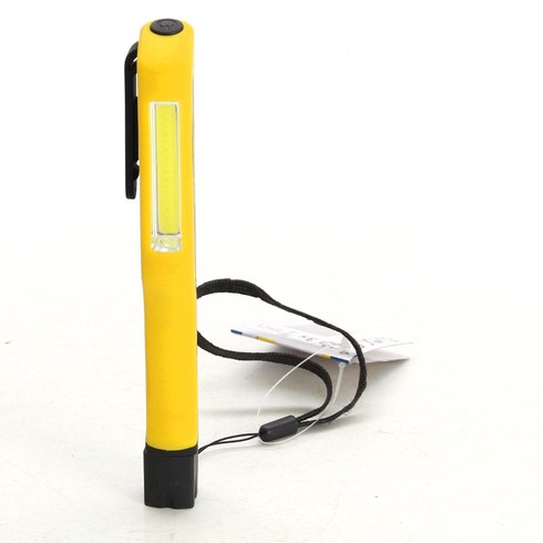 Ruční svítilna Kinzo žluto-černá