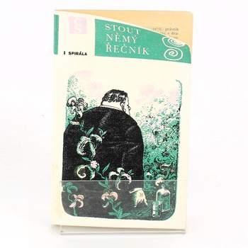 Brožura Němý řečník Rex Stout