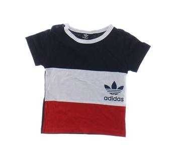 Chlapecké tričko Adidas pruhované