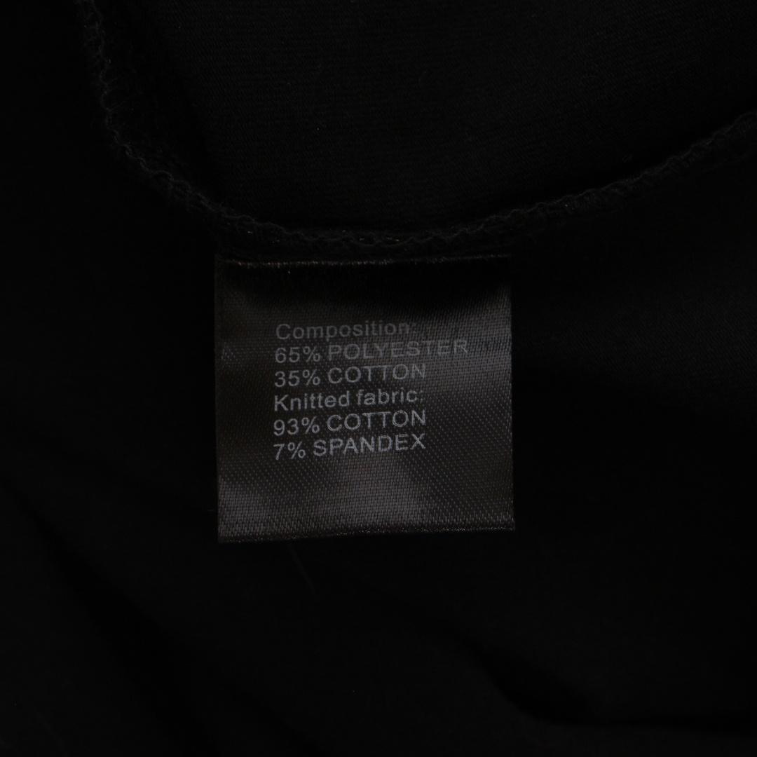 Pánská polokošile KEFITEVD černá