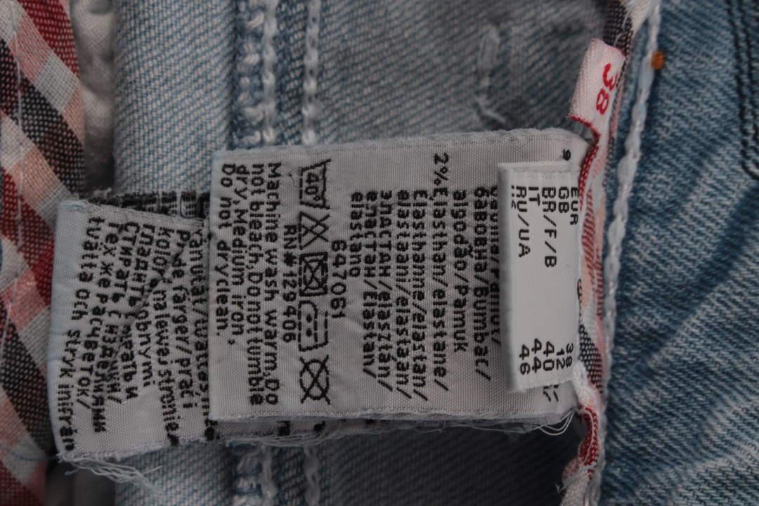 Dámské džíny John Baner odstín modré