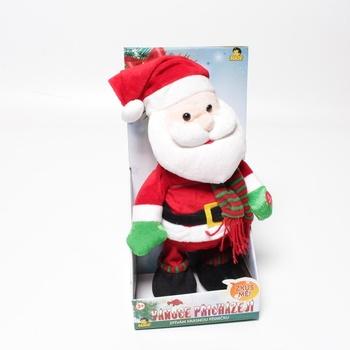 Zpívající plyšový Santa Claus Made