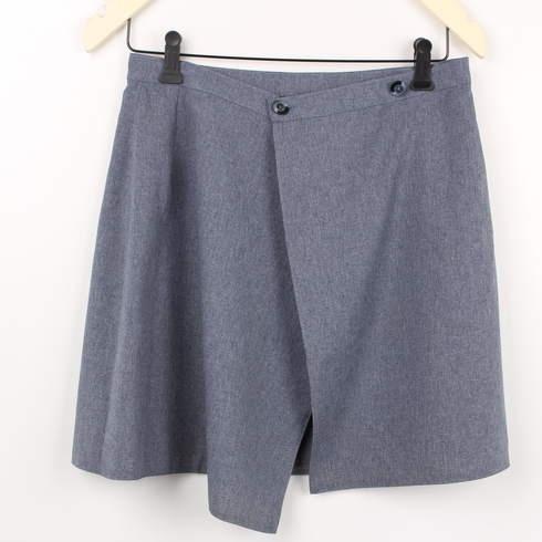 Dámská zavinovací sukně BB šedá - bazar  724db6bd4f