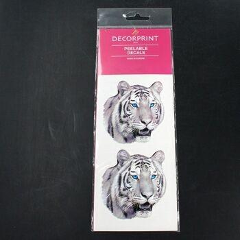 Obtisk na porcelán a sklo Decorprint tygr