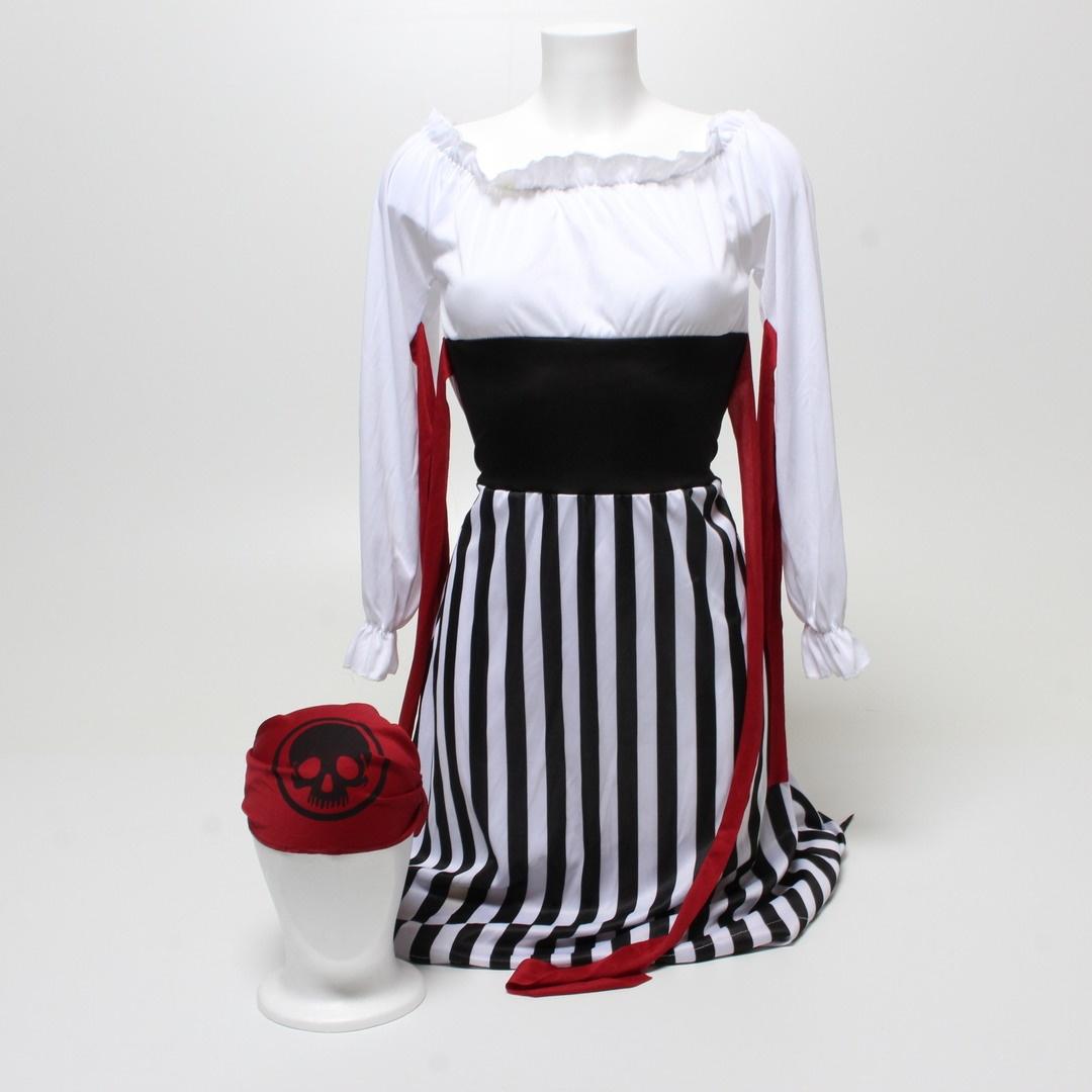 Dámský kostým Smiffys Pirate Lady